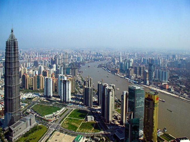 фото города шанхай
